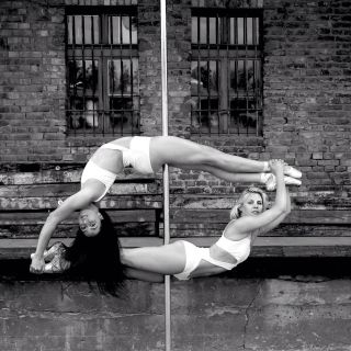 Classical dance with sophisticated pole artistry by Pole On Stage
