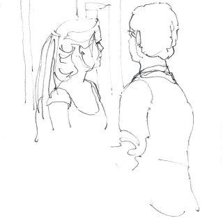 Live Sketching por Teresa Dias Costa
