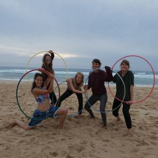 Intense Weekend Hula Hoop Workshop von Leela Pluma Hoop