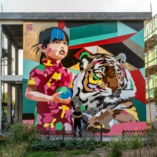 Mural Painting by DAAS