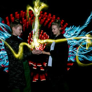 Light Painting Photo Booth by ZOLAQ
