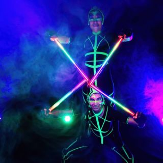 LED-Shows / Lichtshows by Kungfire Performances