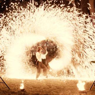 """Feuershow """"Bucht der Feuerpiraten"""" by Kungfire Performances"""