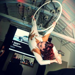 Aerial Hoop by Kathleen Doherty
