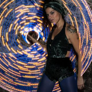 Led Hula Hoop Performance by Ka Whoops
