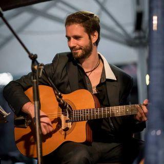 Solo Gypsy Jazz Guitar Gig by Filippo Dall'Asta