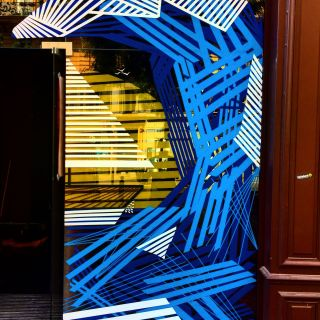 Tape-Art for indoors or outdoors von Guillermo S. Quintana