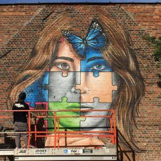 Street art murals  by MrKas