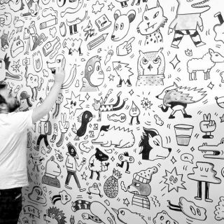Mural painting por PabloBear