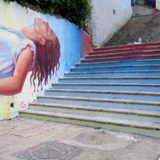 Urban art - Painting by Mino di Summa