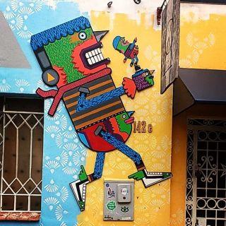 Instalação / Toy art  by Robolito
