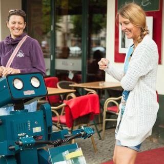 Hugo talking robot von Pantomime Popkultur