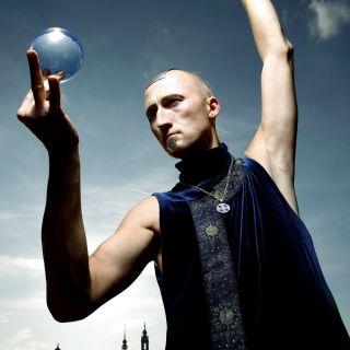 Contact juggling by Kelvin Kalvus
