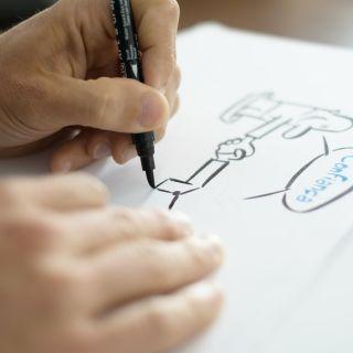 Live illustration by Stuka