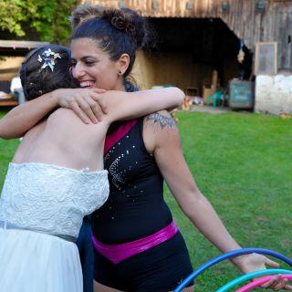 Hula Hoop Wedding Party by Ka Whoops