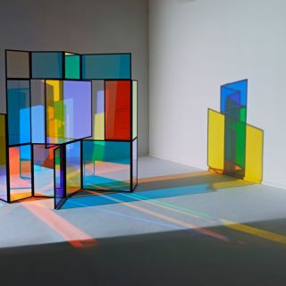 Light and glass installations, Mobiles and Lamps by Camilla Richter