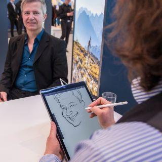 Event Caricaturist by Schnellzeichner Marcel Bender