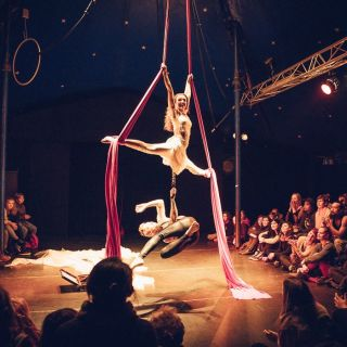 Duo Silks act - The Rose and Davidovs Project von Jessie Rose