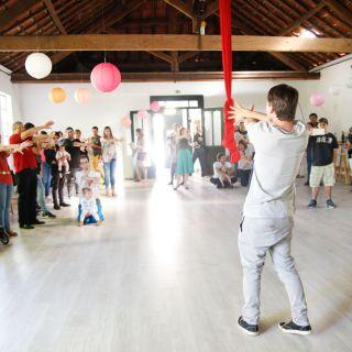 Artes Circenses e Workshops para Crianças por Mr. Milk and Friends