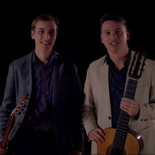 Brazilian guitar duo profile picture