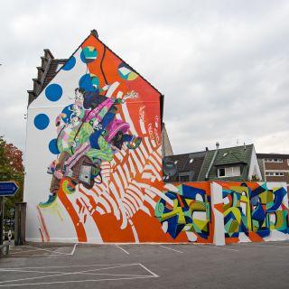 Mural paintings and artworks by KJ263