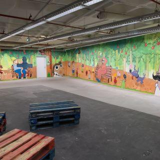 Pintura de Mural / Graffiti von Hugo Lucas