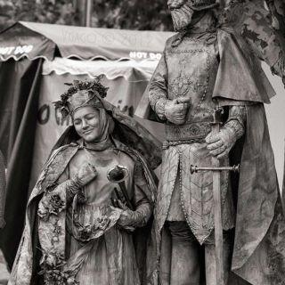 Estátuas por Quideia
