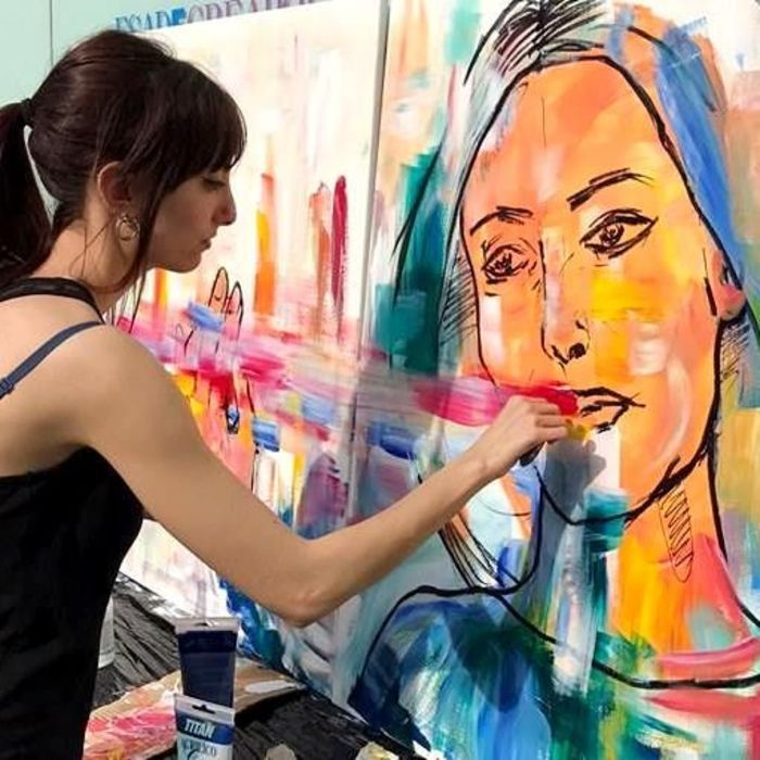 Live Painting Sessions highlight