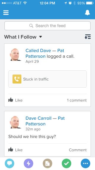 Feed rxglww Salesforce1 Mobile App Version 7.0: Better, Faster, Prettier!