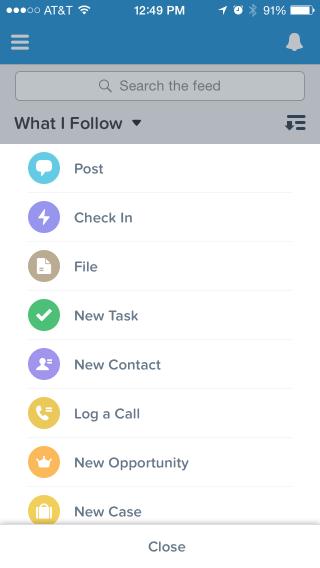 ActionList xixxzq Salesforce1 Mobile App Version 7.0: Better, Faster, Prettier!