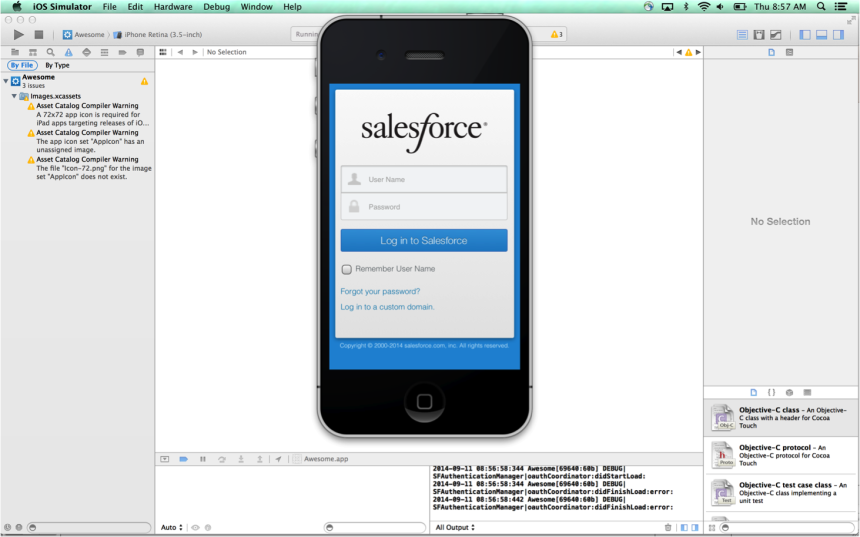 DefaultMobileLogin zf35tz Implementing Single Sign On in Mobile Applications with Salesforce Identity