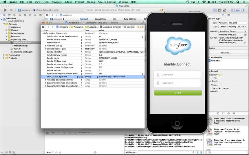 SSOConfig n9lgyt Implementing Single Sign On in Mobile Applications with Salesforce Identity