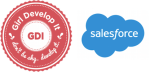 GDI and Salesforce logos