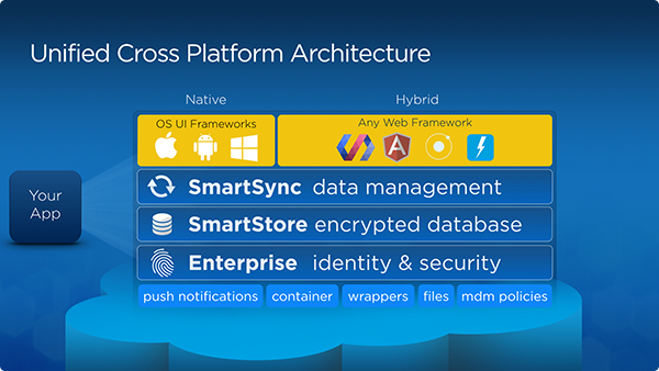 architecture cjqonc Secure, Offline, Cross Platform Apps with Salesforce Mobile SDK and Web Components