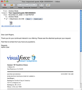 Visualforce Email Templates Now With Pdf Attachments Developer