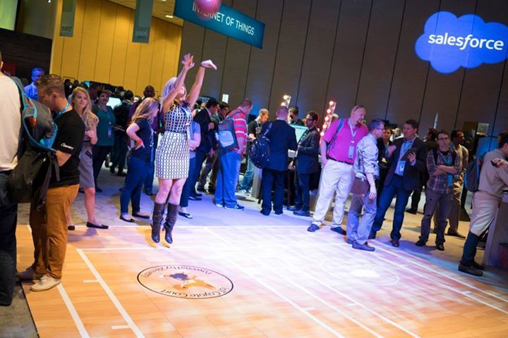 Hoops ad6uhv Internet of Things at the Dreamforce 2014 Developer Zone – a Retrospective