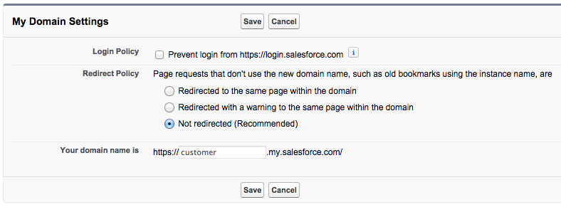 MyDomain pzurru Implementing Single Sign On in Mobile Applications with Salesforce Identity