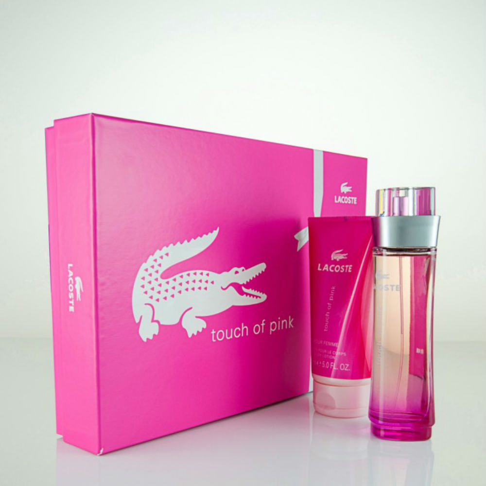 Lacoste Touch of Pink Gift Set 30ml EDT + 100ml Body Lotion ... 981ea0f3f7