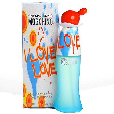 Moschino Cheap & Chic I Love Love Eau de Toilette 50ml Spray ...