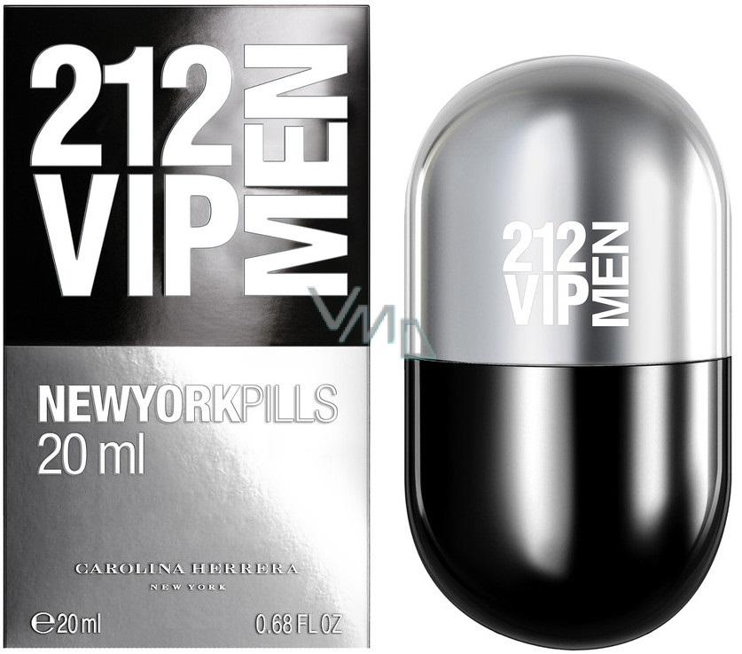 Carolina Herrera 212 NYC Men Pills Eau de Toilette 20ml Spray 610971db70