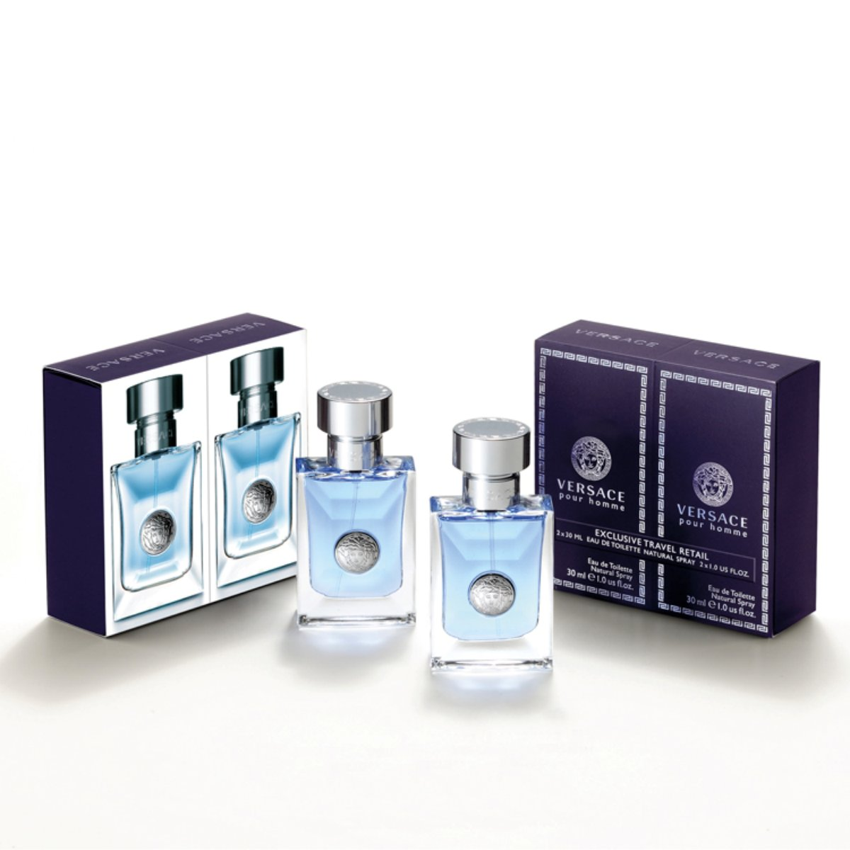 e6db119519a Versace pour Homme Gift Set 2 x 30ml EDT Spray