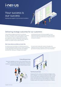 i-nexus Customer Success Overview