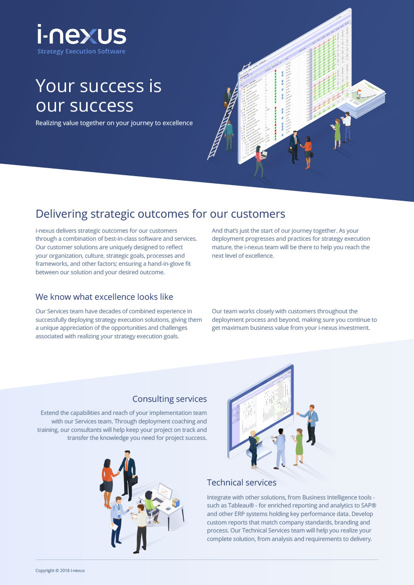 i-nexus Customer Success Overview Brochure