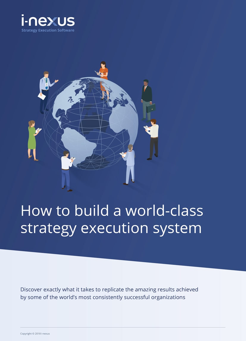 i-nexus How to Build a World-class Strategy Execution System