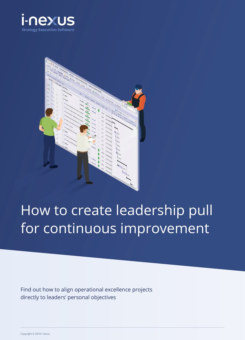 How to create leadership pull for continuous improvement