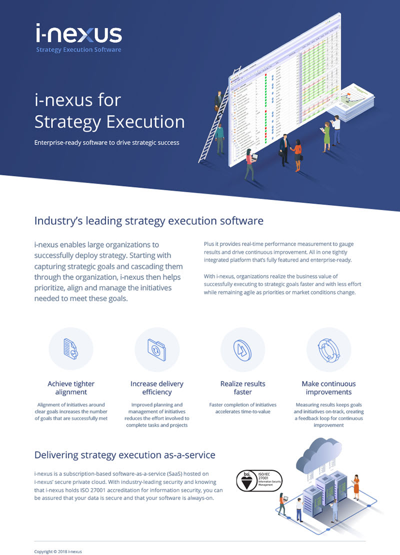 i-nexus Product Overview Brochure