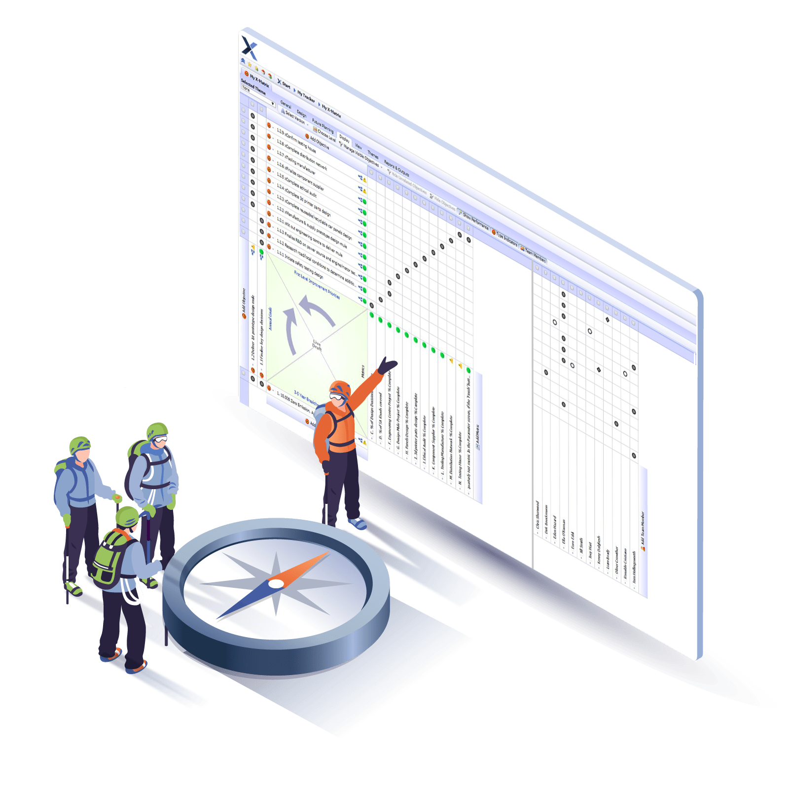 i-nexus Goal Management Software - Strategic Alignment