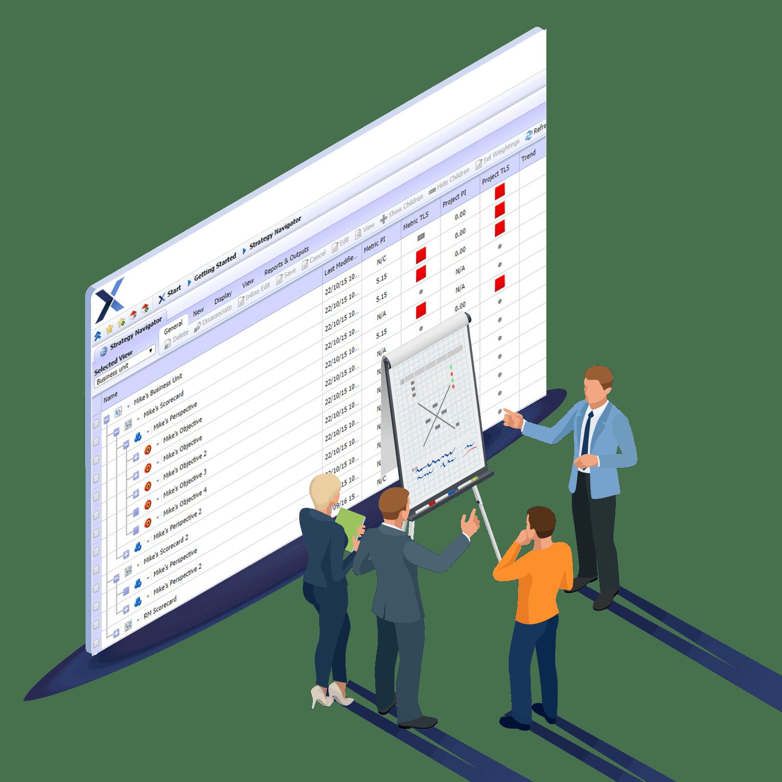 Strategic Goals Cascade Software