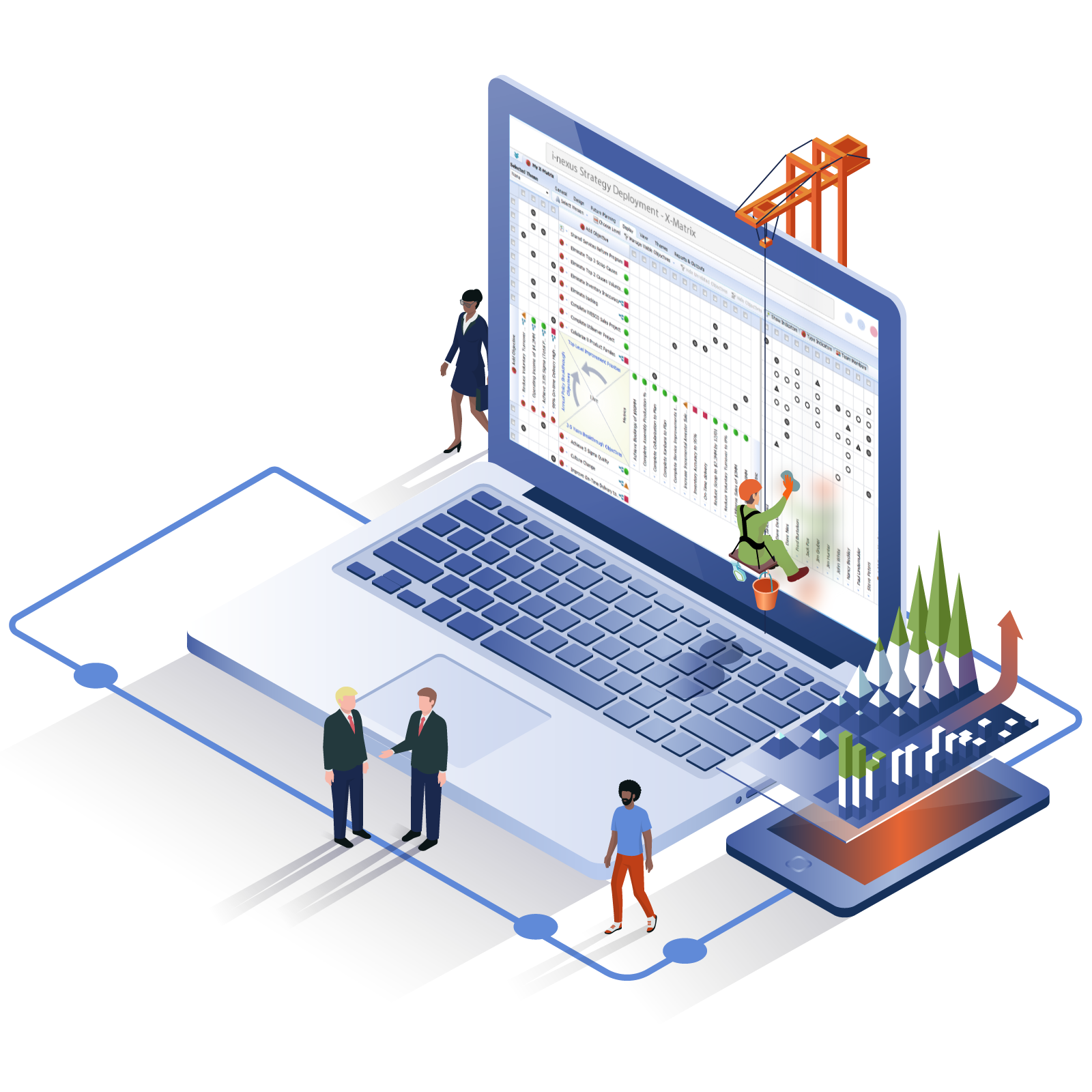 Fully-featured SaaS Business Execution Platform