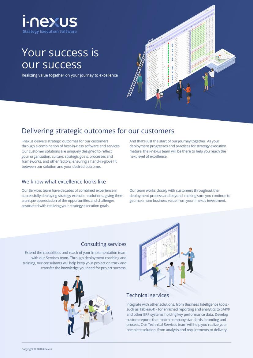 i-nexus Customer Success Overview Brochure